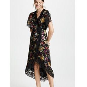 Alice + Olivia Adele Wrap Dress NWT